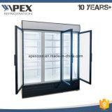 Холодильники индикации двери стекла 3 2~10 градусов коммерчески,