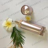 bouteille acrylique de lotion d'or de 80ml Rose pour l'empaquetage de produit de beauté (PPC-ALB-057)
