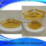 Mensola all'ingrosso del triangolo della stanza da bagno dell'acciaio inossidabile del supporto della parete dell'esportazione