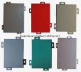 لون صنع وفقا لطلب الزّبون [بفدف] يكسى ألومنيوم جدار فنية لوح