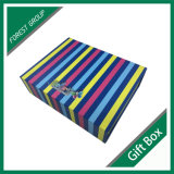 Franja de color Papel magnético Caja de regalo