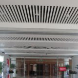Het Opgeschorte Plafond van het Profiel van U van het aluminium Schot met Gevormd Ontwerp
