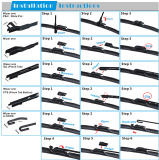 Multi-Funcional Hybrid Automobile Xiamen Car Wipers