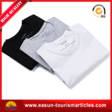 100% Coton T-Shirt blanc personnalisé avec logo