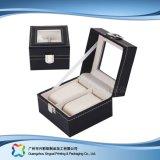 Caisse d'emballage de luxe en bois/de papier étalage pour le cadeau de bijou de montre (xc-dB-010A)