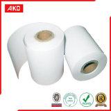 Un papier enduit de silicone latéral de desserrage