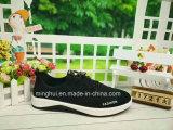 Les loisirs de prix bas d'approvisionnement d'usine de Hebei de tissu chaussent des chaussures de sport de chaussures occasionnelles