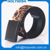 Encargo de la moda Tejido de poliéster / cintura de la lona Cinturón de Hombres