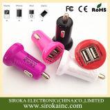 Shenzhen-Hersteller-Qualität 5V 3.1A bewegliche USB-Auto-Aufladeeinheit