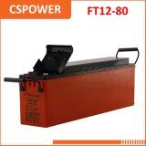 Batería de la larga vida VRLA de la fabricación 12V80ah de China - UPS de las telecomunicaciones, EPS
