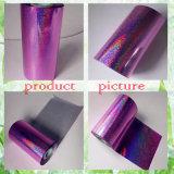Пурпуровая горячая штемпелюя фольга для бумаги/кожаный тканья/тканей/пластмасс