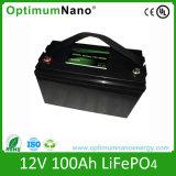 12V 100Ah Batterie LiFePO4 solaire