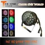 Impermeable 18X10W zumbido LED PAR Can etapa ligera