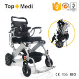 007b+ portable premium Light Weight Foldable power Electric Wheelchair for Disabled patient and Elder