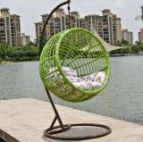 Качание качания напольное, мебель ротанга, корзина ротанга (D024D)