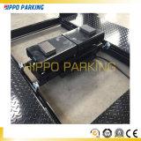 Simple de dos plantas de aparcamiento sistema impulsado por el cilindro y motor
