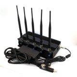 Potente 12W el bloqueador de la señal de telefonía móvil 3G con 5 antenas