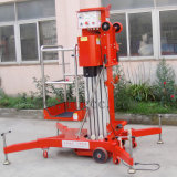 plataforma hidráulica de aluminio de la elevación del trabajo 8meters (nuevo stype GTWY8-100)