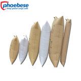 Sacchetto gonfiabile di plastica della carta kraft Dell'aria del pagliolo per la consegna sicura