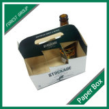 Sechs Bierflasche-Halter-Kasten für Großverkauf