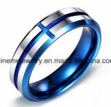 Anéis de Casamento Azuis de Casal
