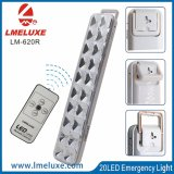 Indicatore luminoso Emergency ricaricabile del LED con telecomando