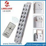 Nachladbare LED-Notleuchte mit Fernsteuerungs