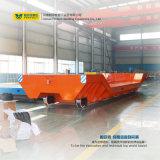 Portador motorizado 80 toneladas del carretón de la pista del vector de transferencia del carril