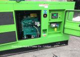 gerador silencioso super do diesel do dossel de Cummins da potência à espera de 45kVA 36kw