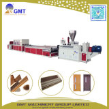 Le bois plastique composite Carte WPC Cuisine Extrusion Making Machine