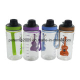 Прозрачная пластичная бутылка трасучки с бутылкой трасучки чашки салата шарика металла пластичной
