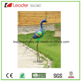 Figurines decorativos da coruja do metal do jardim para a decoração do gramado