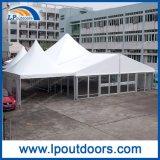 tenda di cerimonia nuziale di evento dell'alto picco 10m con la parete di vetro per l'hotel esterno
