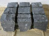 Schwarze Basalt Trumbled Ziegelsteine, Blöcke, Straßenbetoniermaschinen