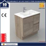 Governo di stanza da bagno sanitario personalizzato del MDF di Melaimine degli articoli con il lavabo