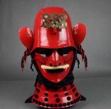 Handgemachter japanischer Samurai-Rüstungs-Sturzhelm
