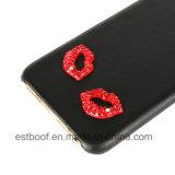 """Caixa de couro do telefone dos bordos """"sexy"""" de Eew para o iPhone 7"""