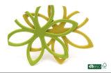 La dimensión de una variable de la flor se reunió diariamente la percha del terciopelo