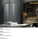 4mm 성미 유리제 간단한 목욕탕 샤워 문 (400)