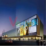 Visualizzazione di LED completa esterna del video a colori del Vg P6 per la pubblicità dello schermo
