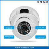 Cámara del IP de la red del surtidor 4MP Poe de la cámara del CCTV con el Mic