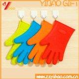 台所用品(XY-SG-01)のための熱い販売のアマゾンシリコーンの耐熱性オーブンBBQの手袋