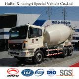 vrachtwagen van het Vervoer van de Concrete Mixer Foton de Euro 4 van 6cbm 8X4