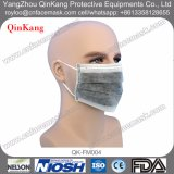 La mascherina chirurgica attivata del carbonio, la maschera di protezione del filtro dal carbonio, 4 maneggia la mascherina attiva del carbonio