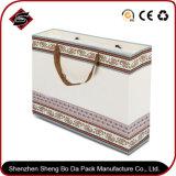 Rectángulo de empaquetado de las compras de Customzied de la impresión del regalo de la vela portable del papel