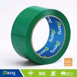 Fita de embalagem de película BOPP de cor verde Shrink da torre