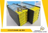 Korloy Ccgt120404-Ak H01 Pieza inserta que muele para la pieza inserta del carburo de la herramienta que muele