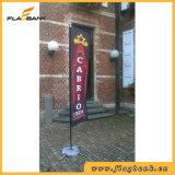 3.4m Advertizing Fiberglass Digital Printing Rectangular Flag/Flying Flag