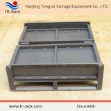 Stackable стальная клетка хранения ячеистой сети для пакгауза