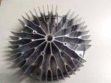 Aluminiumlegierung den Druckguss-Kühlkörper, der für LED-Lampenhalter verwendet wird